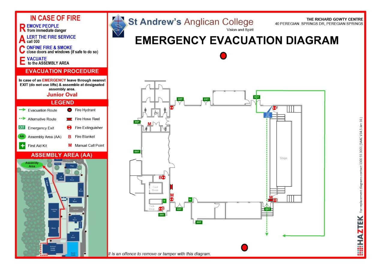 Fire Evacuation Signs And Diagrams  Fire Evacuation Maps